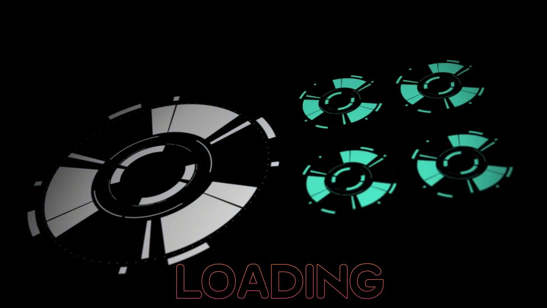 2D Loading Intro Template Wondershare Filmora | Free Download