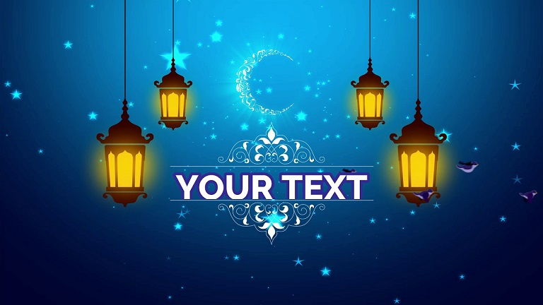Islamic Intro Template 2 for Wondershare Filmora | Free Download